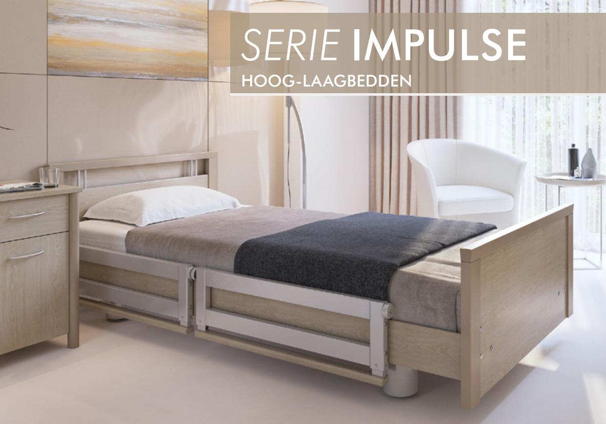 Extra hoog laag bed met anti trendelburg