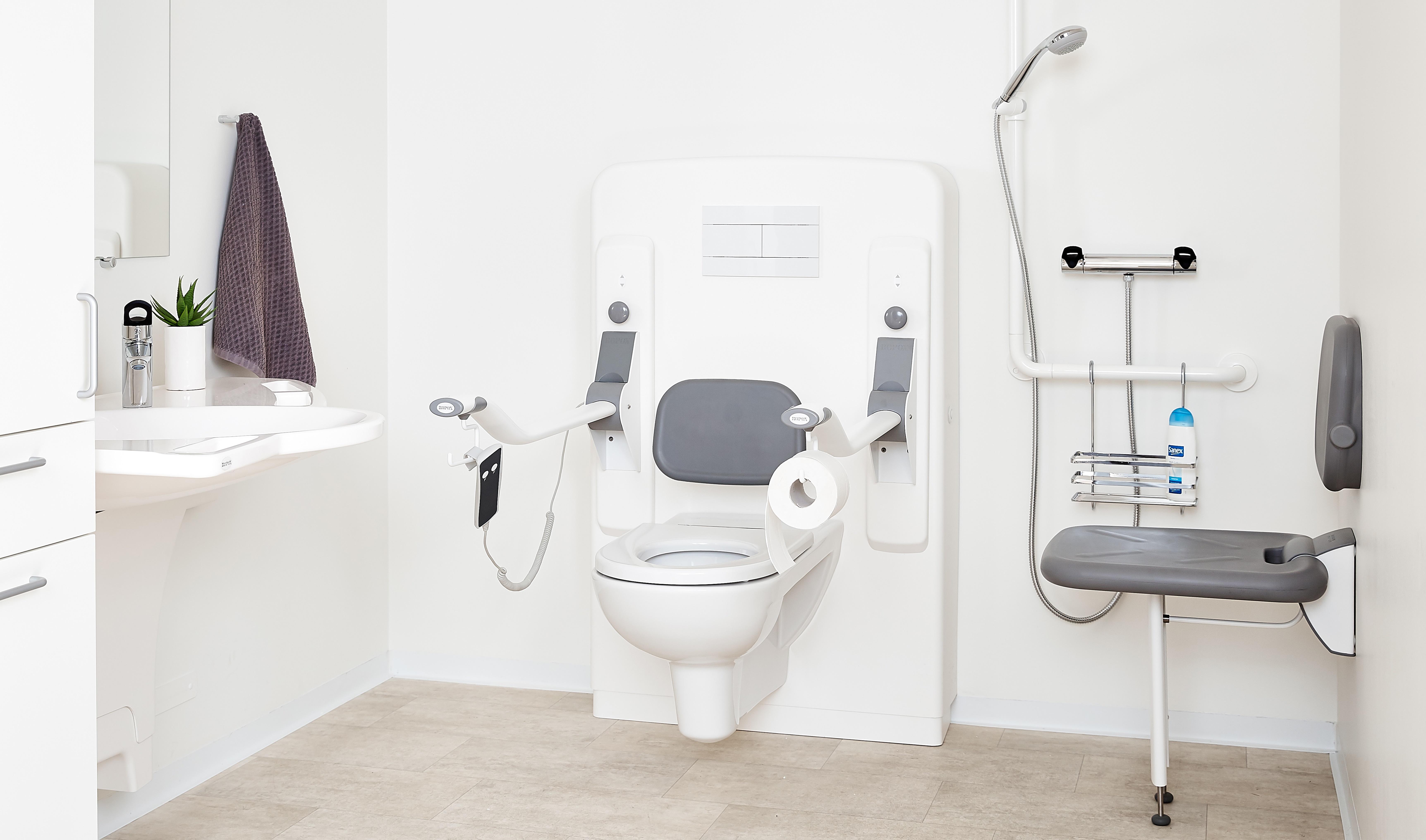 ROPOX badkamerhulpmiddelen, voor ouderen en mindervaliden