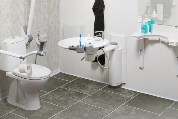 Aanpassing Badkamer Gehandicapten : Ropox wastafel aanpassingen voor ouderen en mindervaliden
